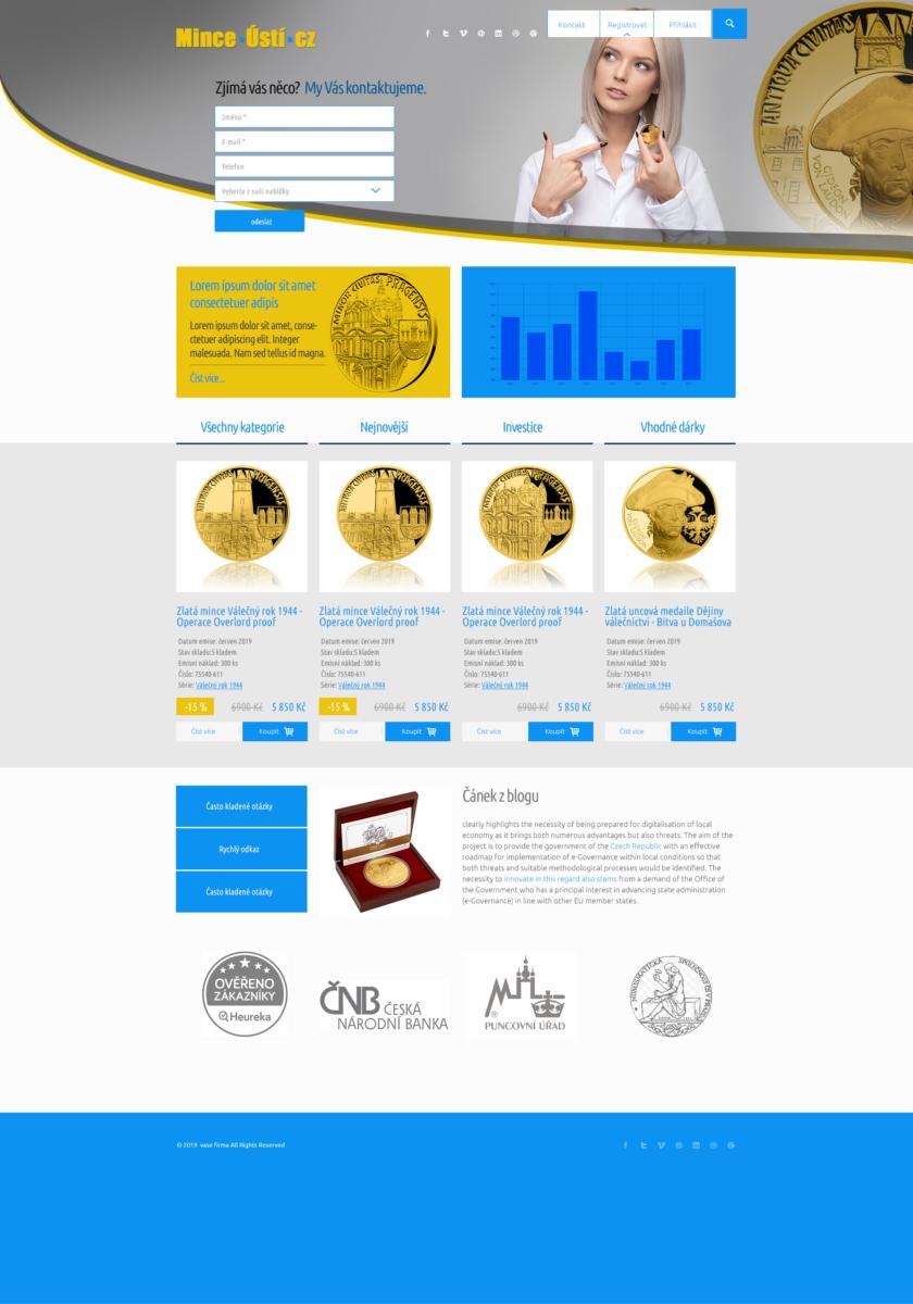 grafický návrh webu