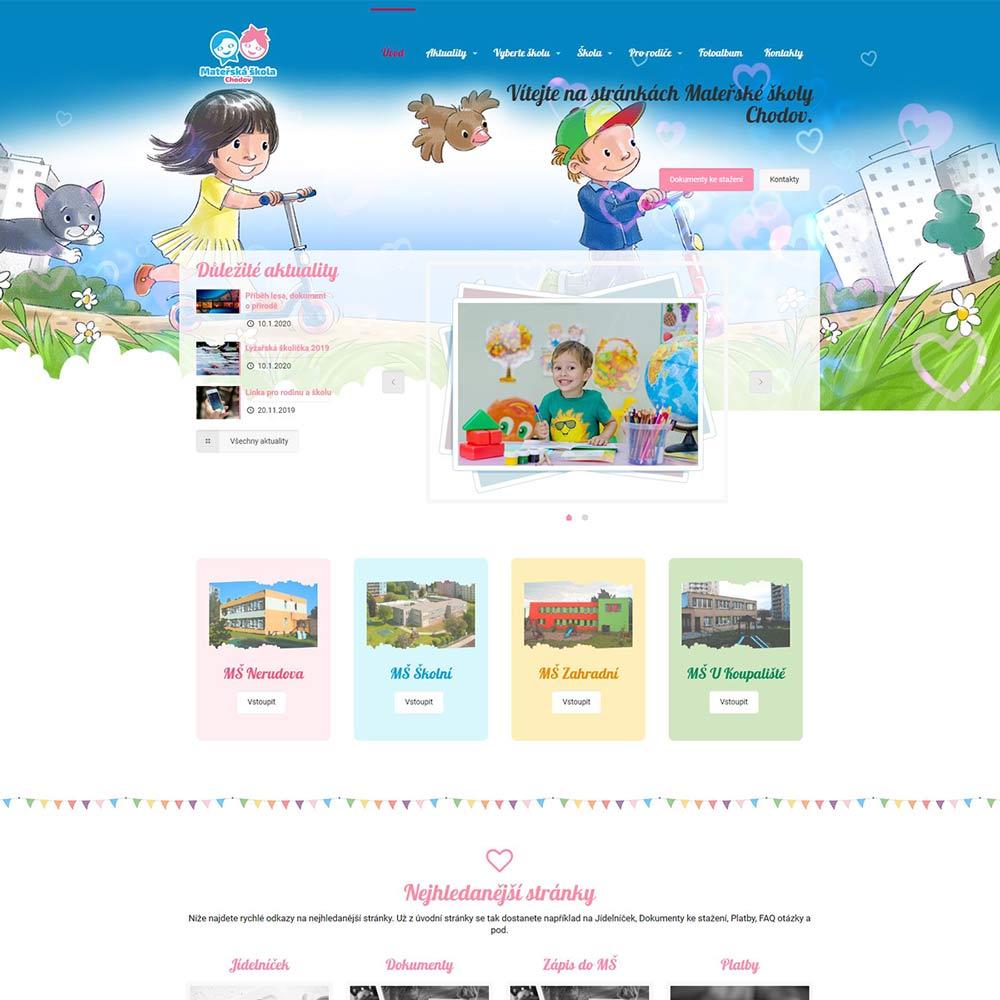Tvorba www pro Mateřskou školu